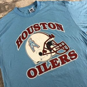 80s Vintage Houston Oilers Shirt